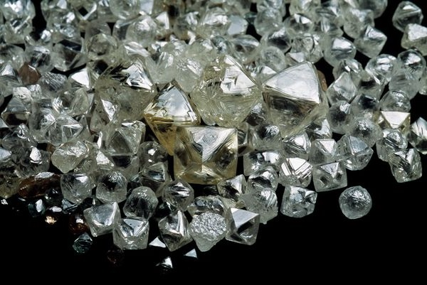 rough diamonds parcel